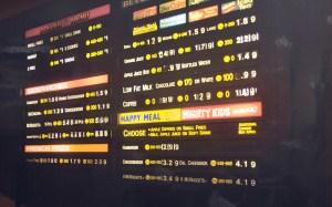 menu crop