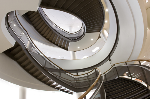 HSC Library Staircase